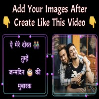 Add Your Images After Create Best Friendship Wishes Video