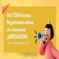 Get FSSAI license Registration online at a low price